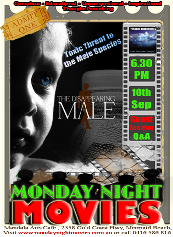 The Diasappearing Male - DVD Documentary